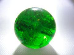 天然石 AAAAAクロムダイオプサイト 約10�o玉 P056