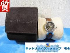 質屋☆本物 ヴィトン 腕時計 タンブール Q1211 レディース 美品