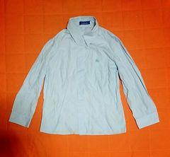 バーバリーブルーレーベルホースマーク付きシャツ