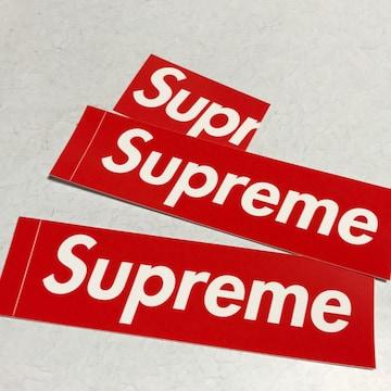新品 送料無料シュプリームsupremeステッカー ショップカード