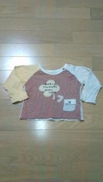 [送料無料]Size80cm/春服/biquette/ロンT /