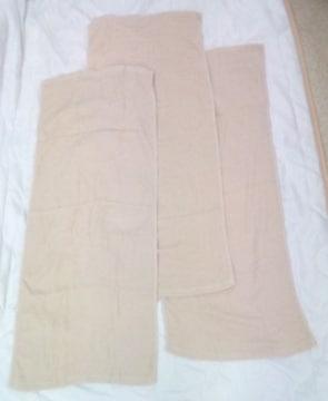 新品 タオル 3枚組 約33cm×約80cm ブラウン