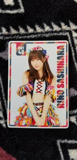 HKT48☆指原莉乃 カレンダーカード3枚 < タレントグッズの