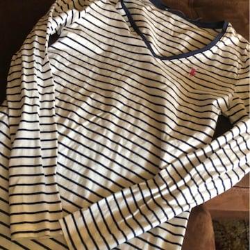 ラルフローレン ボーダー可愛い長袖xs 150.160