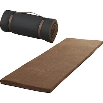 マルチマットレス ブラウン 厚さ4cm  60×180cm