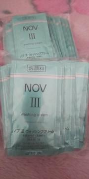 NOVノブ�Vウォッシングクリームサンプル洗顔料低刺激性
