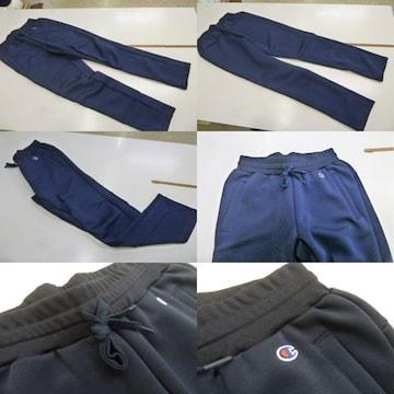 送料込(XL紺)チャンピオン★ラップエアドライパンツ C3HS231 軽量パンツ 裾ゴム