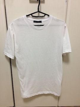 無地Tシャツ ホワイト 美品 クルーネック