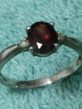 ルビーの指輪 プラチナリング PT900