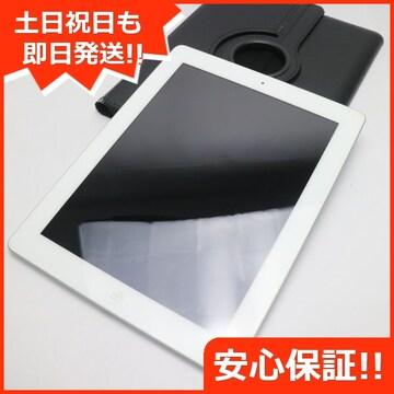 ●美品●iPad第4世代Wi-Fi64GB ホワイト●