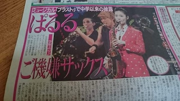 ぱるる「島崎遥香」2017.8.16 日刊スポーツ 1枚