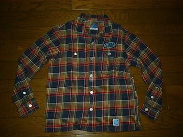 NEIGHBORHOODネイバーフッドチェックネルシャツS12ワッペン