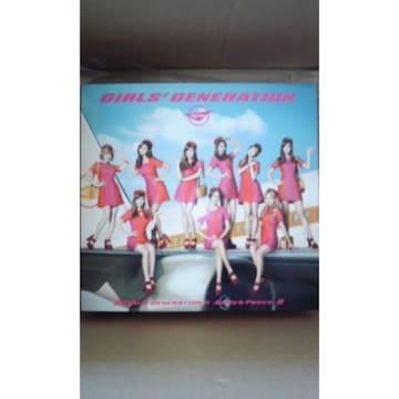 新品同様 少女時代 2nd 豪華初回限定盤(CD+DVD+GOODS) アルバム