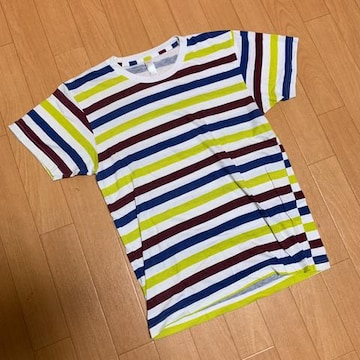 ボーダー Tシャツ アメリカンアパレルMサイズで出品