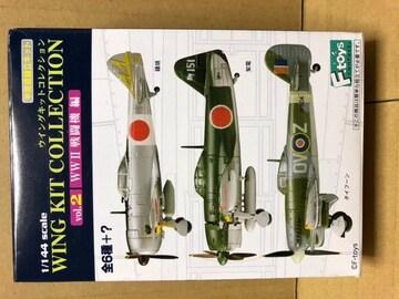 1/144 エフトイズ ウイングキットコレクション2 WWII 鐘馗II型