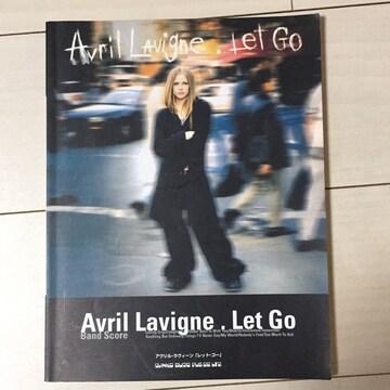 Avril LAvigne.Let Go☆バンドスコア☆レットゴー☆アブリル