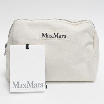 美品MaxMaraマックスマーラ ポーチ 生成り 良品 正規品