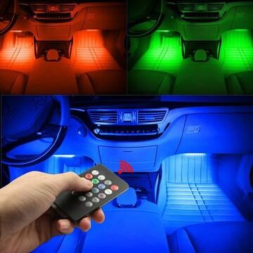 車内用 LEDテープライト シガーソケット式  全7色