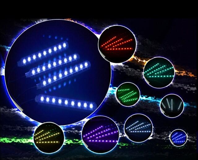 車内用 LEDテープライト シガーソケット式  全7色 < 自動車/バイク