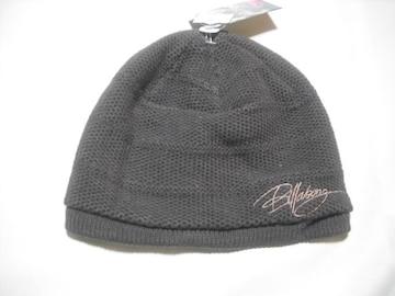 wb157 女 BILLABONG ビラボン ニット帽 ブラウン