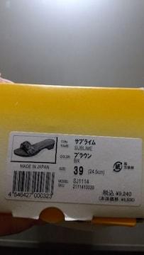 新品★履きやすい!「Dr.Scholl」サンダル=24.5=定価9240円