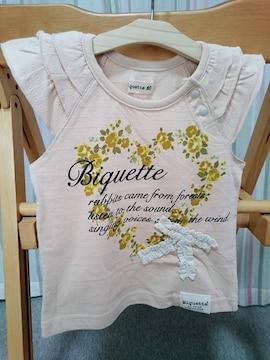即決★半額以下★ラス1★Biquetteビケット★半袖Tシャツ★80cm