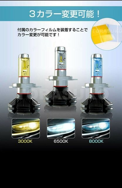 LED ヘッドランプ H4 Hi/Low切替 エヌバン N-VAN  JJ1 JJ2 < 自動車/バイク