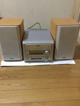MD &CD ラジオ コンポ Victor