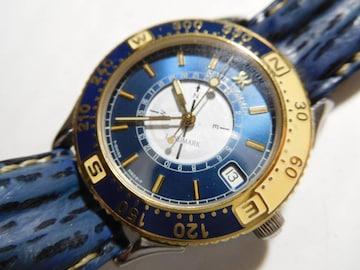 レビュートーメン腕時計 クォーツ製、電池式 メンズ動作確認済 !
