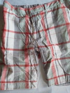 GAP(ギャップ) 短パン 86サイズ リバーシブル(黒×白・赤×グレー×白)