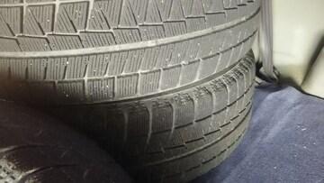 215/60/16国産タイヤ、ホイル付きスタッドレス4本