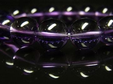 幸せを運んでくるパワーストーン 紫水晶アメジスト12ミリ数珠ブレスレット