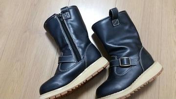 【中古美品】黒ブーツ(17�p)