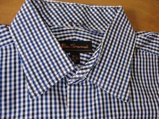 BEN SHERMAN ベンシャーマン シャツ Mサイズ < ブランドの