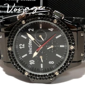 極美品【箱・カード付】1スタ Vendome【自動巻】美しい腕時計