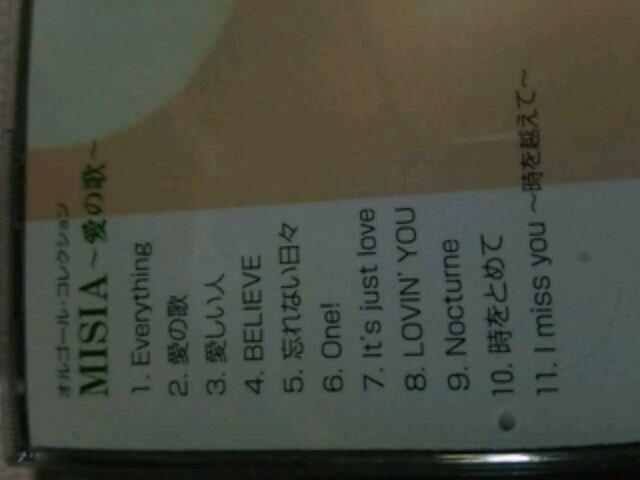 CD【MISIA】オルゴール.コレクション♪ミーシャ < タレントグッズの
