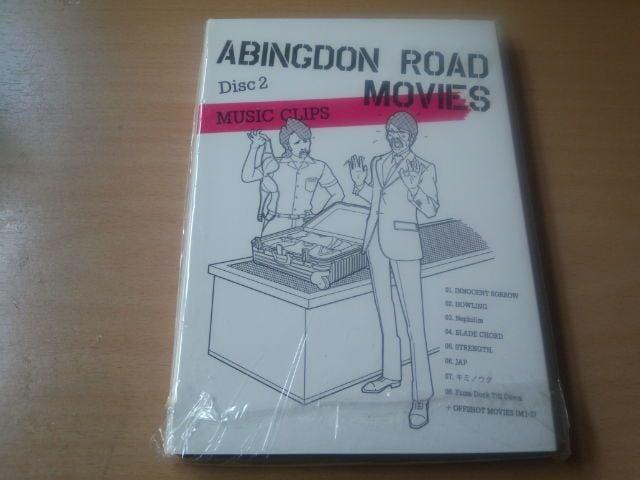 abingdon boys school DVD「ABINGDON ROAD MOVIES」西川貴教● < タレントグッズの