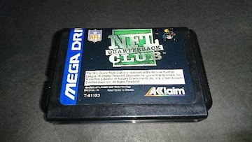 MD NFLクォーターバッククラブ'95 / メガドライブ アメフト
