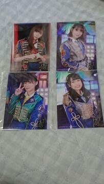 HKT48 意志特典写真4枚セット