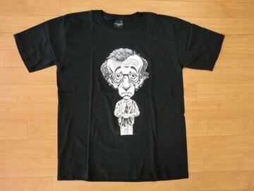 ウッディアレン イラスト Tシャツ Lサイズ 新品