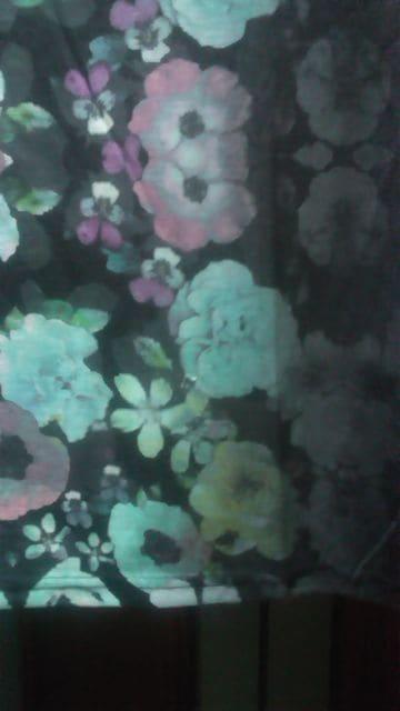 新品LL~3L/H&M★黒に花柄プルオーバー/細見え/半袖/オススメ < ブランドの