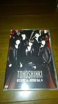 DVDソフト 東方神起 ヒストリー イン ジャパン Vol.4