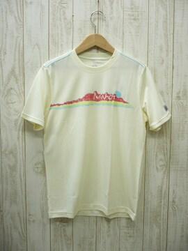 即決☆マーモット プリントTシャツ WHT/M 速乾 UV 新品