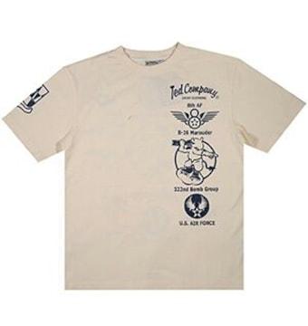 新作/テッドマン/Tシャツ/ホワイト/XL/TDSS-439/エフ商会/バズリクソンズ
