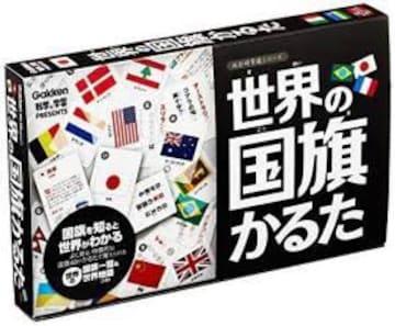 世界の国旗かるた 絵札48枚、読み札48枚 世界地図つき かるた