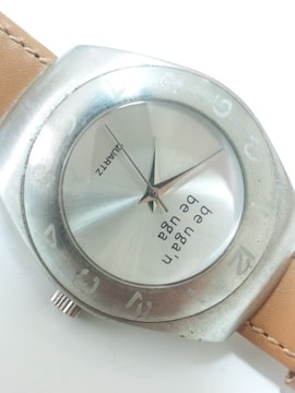 11918/beuga.nお洒落なシルバータイプのメンズ腕時計★格安出品オススメ