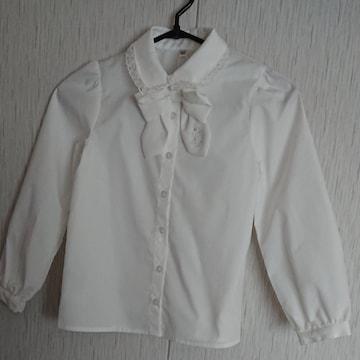 anyFAM☆新品タグ付☆白のブラウス☆size120☆入学式