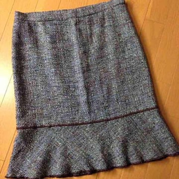 モスキーノ ツィード スカート ML