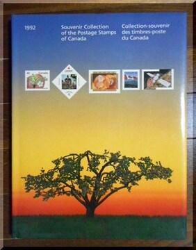 【洋書】 1992 Postage Stamps of Canada / カナダ切手