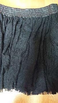 【新品】黒レーススカート/OLIVE des OLIVE